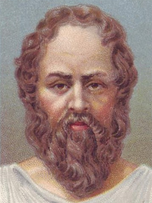 illustration of socrates from kidspast.com