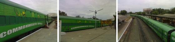 madurai stoppage of commonwealth train
