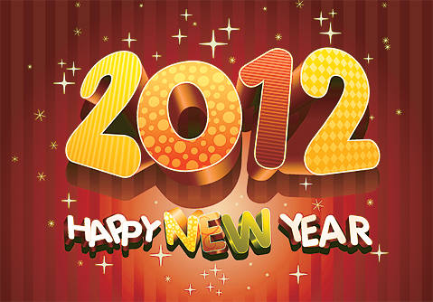 New Year Greetings for 2012